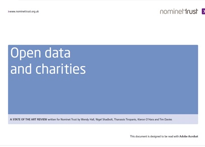 Open Data and Charities