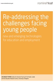 Re-addressing the challenges facing young people